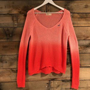 Hollister ombre sweater